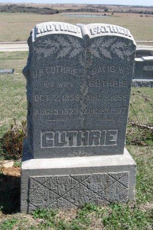 "BACON GUTHRIE, JENNETTE ""JENNIE"" - Chautauqua County, Kansas   JENNETTE ""JENNIE"" BACON GUTHRIE - Kansas Gravestone Photos"