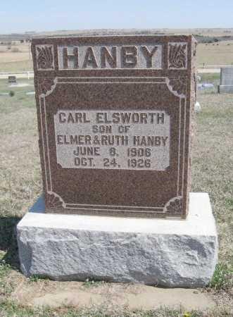 HANBY, CARL ELSWORTH - Chautauqua County, Kansas   CARL ELSWORTH HANBY - Kansas Gravestone Photos