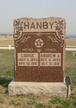 "HANBY, ANDREW ""JACKSON"" (VETERAN UNION) - Chautauqua County, Kansas | ANDREW ""JACKSON"" (VETERAN UNION) HANBY - Kansas Gravestone Photos"