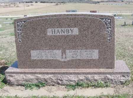 HANBY, RUTH ANN - Chautauqua County, Kansas | RUTH ANN HANBY - Kansas Gravestone Photos