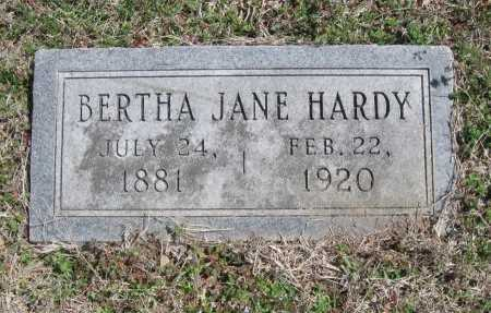 HARDY, BERTHA JANE - Chautauqua County, Kansas | BERTHA JANE HARDY - Kansas Gravestone Photos