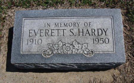 HARDY, EVERETT S - Chautauqua County, Kansas   EVERETT S HARDY - Kansas Gravestone Photos