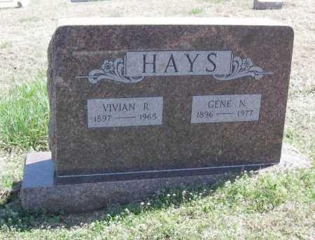 HAYS, VIVIAN R - Chautauqua County, Kansas | VIVIAN R HAYS - Kansas Gravestone Photos