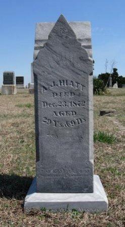 HIATT, ALPHARUS J (VETERAN UNION) - Chautauqua County, Kansas   ALPHARUS J (VETERAN UNION) HIATT - Kansas Gravestone Photos