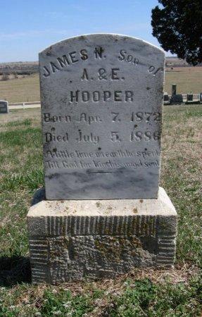 HOOPER, JAMES N - Chautauqua County, Kansas   JAMES N HOOPER - Kansas Gravestone Photos