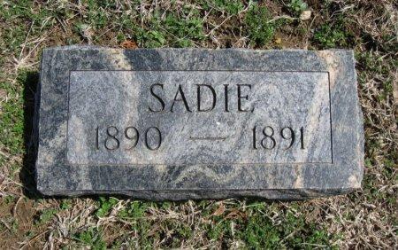 HOOPER, SADIE - Chautauqua County, Kansas   SADIE HOOPER - Kansas Gravestone Photos