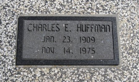 HUFFMAN, CHARLES E (VETERAN WWII) - Chautauqua County, Kansas | CHARLES E (VETERAN WWII) HUFFMAN - Kansas Gravestone Photos