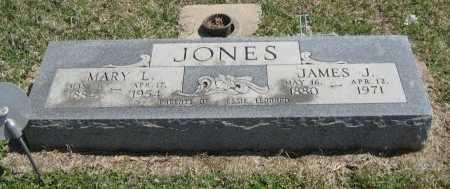 JONES, MARY L - Chautauqua County, Kansas | MARY L JONES - Kansas Gravestone Photos