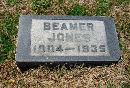 JONES, BEAMER - Chautauqua County, Kansas   BEAMER JONES - Kansas Gravestone Photos
