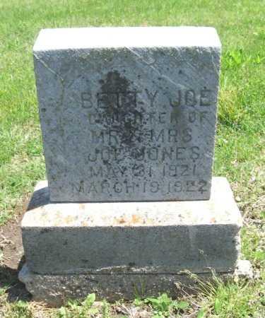 JONES, BETTY JOE - Chautauqua County, Kansas   BETTY JOE JONES - Kansas Gravestone Photos