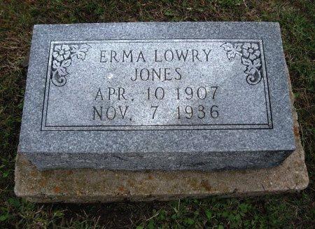 JONES, ERMA - Chautauqua County, Kansas   ERMA JONES - Kansas Gravestone Photos