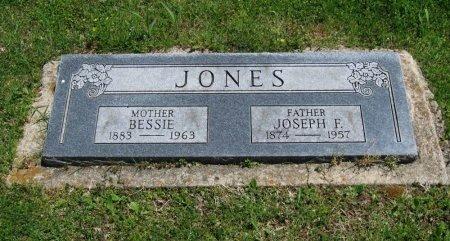 "JONES, MARY ELIZABETH ""BESSIE"" - Chautauqua County, Kansas | MARY ELIZABETH ""BESSIE"" JONES - Kansas Gravestone Photos"