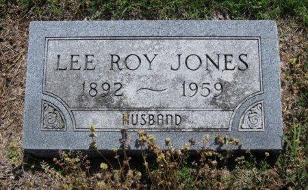 JONES, LEE ROY - Chautauqua County, Kansas   LEE ROY JONES - Kansas Gravestone Photos