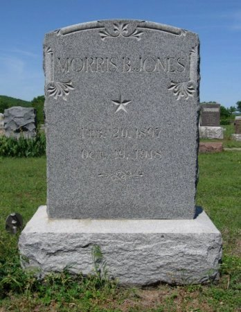JONES, MORRIS BURDETTE (VETERAN WWI DNB) - Chautauqua County, Kansas   MORRIS BURDETTE (VETERAN WWI DNB) JONES - Kansas Gravestone Photos