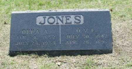 JONES, ORANGE VANDEVER LEMON ( VETERAN UNION) - Chautauqua County, Kansas | ORANGE VANDEVER LEMON ( VETERAN UNION) JONES - Kansas Gravestone Photos