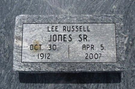 JONES, LEE RUSSELL, SR - Chautauqua County, Kansas   LEE RUSSELL, SR JONES - Kansas Gravestone Photos