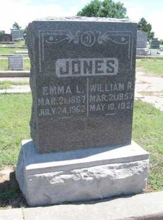 JONES, EMMA LOUISE - Chautauqua County, Kansas   EMMA LOUISE JONES - Kansas Gravestone Photos