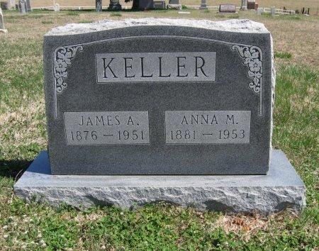 KELLER, JAMES A - Chautauqua County, Kansas | JAMES A KELLER - Kansas Gravestone Photos
