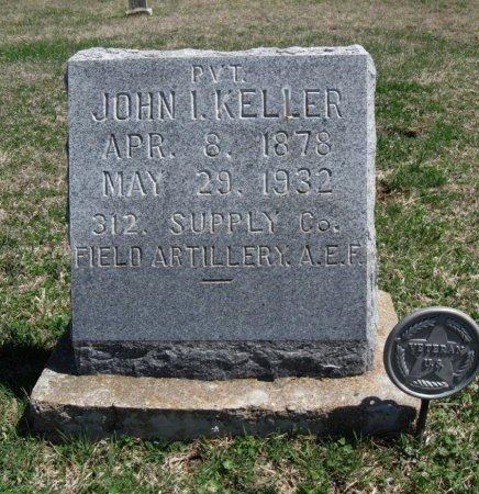 KELLER, JOHN I (VETERAN WWI) - Chautauqua County, Kansas   JOHN I (VETERAN WWI) KELLER - Kansas Gravestone Photos