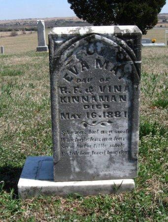 KINNAMAN, EVA MAY - Chautauqua County, Kansas | EVA MAY KINNAMAN - Kansas Gravestone Photos