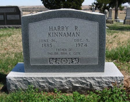 KINNAMAN, HARRY R - Chautauqua County, Kansas | HARRY R KINNAMAN - Kansas Gravestone Photos