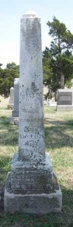 KINNAMAN, MARY BELLE - Chautauqua County, Kansas | MARY BELLE KINNAMAN - Kansas Gravestone Photos