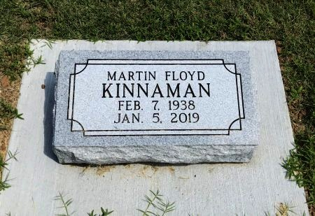 KINNAMAN, MARTIN FLOYD - Chautauqua County, Kansas | MARTIN FLOYD KINNAMAN - Kansas Gravestone Photos
