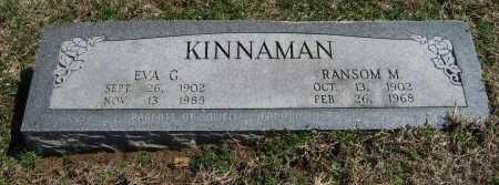KINNAMAN, RANSOM M - Chautauqua County, Kansas   RANSOM M KINNAMAN - Kansas Gravestone Photos
