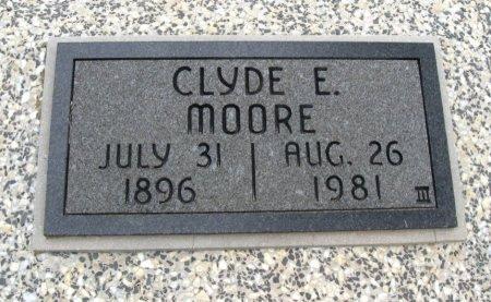 MOORE, CLYDE EARL - Chautauqua County, Kansas | CLYDE EARL MOORE - Kansas Gravestone Photos