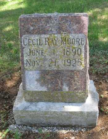 MOORE, CECIL JUNE - Chautauqua County, Kansas   CECIL JUNE MOORE - Kansas Gravestone Photos