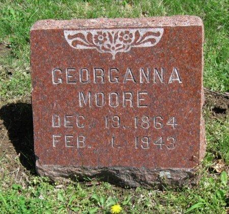 MOORE, GEORGANNA - Chautauqua County, Kansas   GEORGANNA MOORE - Kansas Gravestone Photos