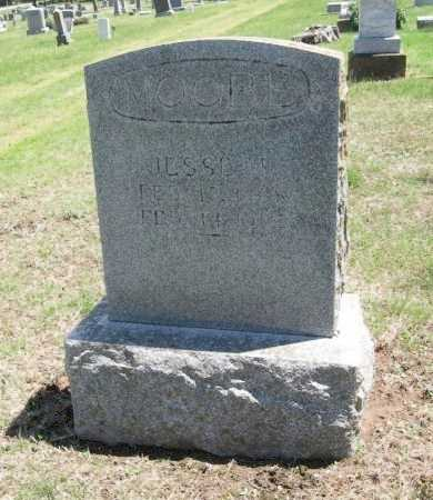 MOORE, JESSE M - Chautauqua County, Kansas   JESSE M MOORE - Kansas Gravestone Photos
