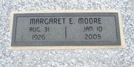 MOORE, MARGARET E - Chautauqua County, Kansas | MARGARET E MOORE - Kansas Gravestone Photos