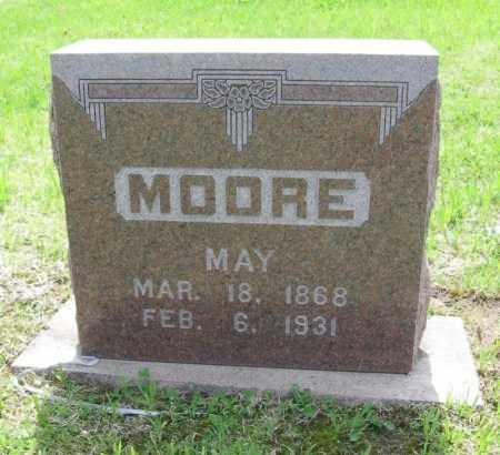 MOORE, MAY - Chautauqua County, Kansas | MAY MOORE - Kansas Gravestone Photos