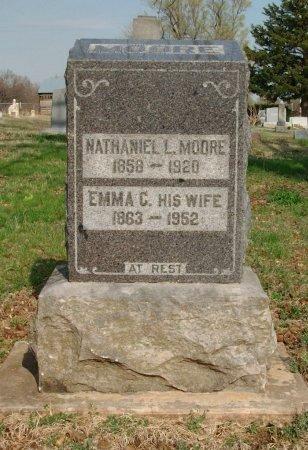 MOORE, EMMA CATHERINE - Chautauqua County, Kansas   EMMA CATHERINE MOORE - Kansas Gravestone Photos