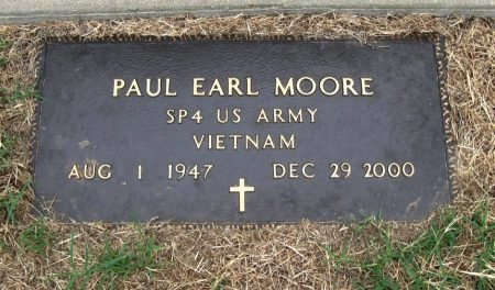 MOORE, PAUL EARL (VETERAN VIET) - Chautauqua County, Kansas   PAUL EARL (VETERAN VIET) MOORE - Kansas Gravestone Photos