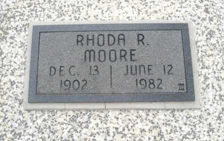 MOORE, RHONDA RUTH - Chautauqua County, Kansas   RHONDA RUTH MOORE - Kansas Gravestone Photos
