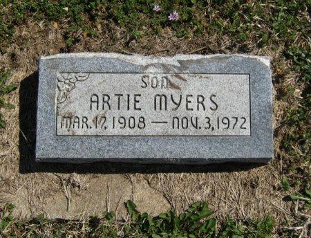 MYERS, ARTIE - Chautauqua County, Kansas | ARTIE MYERS - Kansas Gravestone Photos