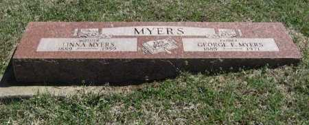 BANNING MYERS, LINNA - Chautauqua County, Kansas | LINNA BANNING MYERS - Kansas Gravestone Photos