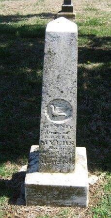 MYERS, MINNIE - Chautauqua County, Kansas | MINNIE MYERS - Kansas Gravestone Photos