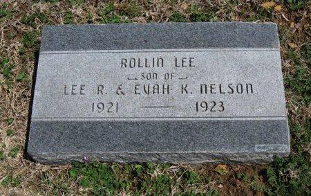 NELSON, ROLLIN LEE - Chautauqua County, Kansas   ROLLIN LEE NELSON - Kansas Gravestone Photos