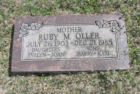 OLLER, RUBY M - Chautauqua County, Kansas | RUBY M OLLER - Kansas Gravestone Photos