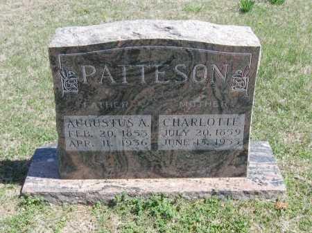 PATTESON, CHARLOTTE - Chautauqua County, Kansas | CHARLOTTE PATTESON - Kansas Gravestone Photos