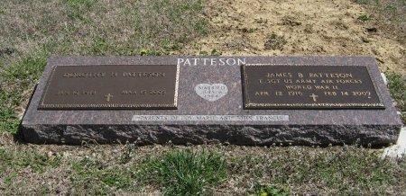 PATTESON, JAMES B (VETERAN WWII) - Chautauqua County, Kansas | JAMES B (VETERAN WWII) PATTESON - Kansas Gravestone Photos