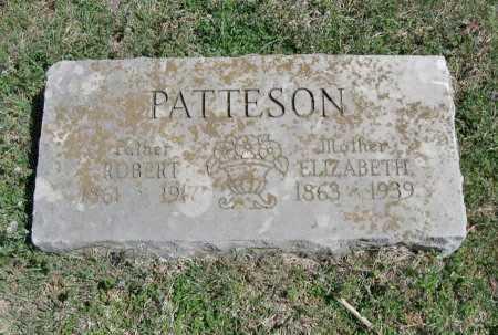 URBAN PATTESON, ELIZABETH - Chautauqua County, Kansas   ELIZABETH URBAN PATTESON - Kansas Gravestone Photos