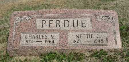 PERDUE, NETTIE CORA - Chautauqua County, Kansas | NETTIE CORA PERDUE - Kansas Gravestone Photos