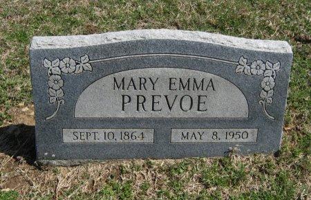 PREVOE, MARY EMMA - Chautauqua County, Kansas | MARY EMMA PREVOE - Kansas Gravestone Photos