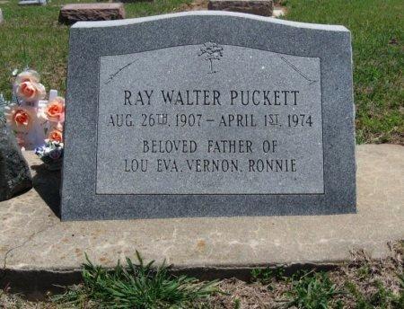 PUCKETT, RAY WALTER - Chautauqua County, Kansas   RAY WALTER PUCKETT - Kansas Gravestone Photos