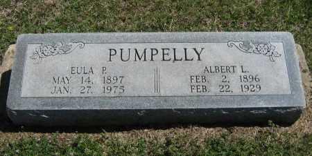 PUMPELLY, EULA P - Chautauqua County, Kansas   EULA P PUMPELLY - Kansas Gravestone Photos