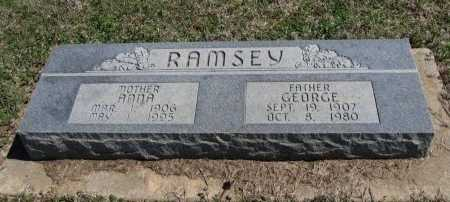 ROBERTSON RAMSEY, ANNA RUTH - Chautauqua County, Kansas | ANNA RUTH ROBERTSON RAMSEY - Kansas Gravestone Photos